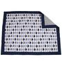 Bacati Elephant Blue Grey 10 CS Crib Set