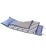Bacati Elephant Blue Grey Nap Mat