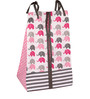 Bacati Elephant Pink Grey 10 CS Crib Set