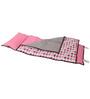 Bacati Elephant Pink Grey Nap Mat
