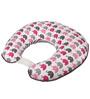 Bacati Elephant Pink Grey Nursing Pillow