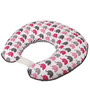 Bacati Elephant Pink Grey Nursing Pillow Cover Only