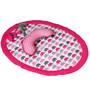 Bacati Elephants Pink Tummy Time