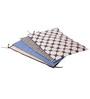 Bacati Grey Dots Blue Grey 4 pc Sheet Set