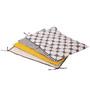 Bacati Grey Dots Yellow Grey 4 pc Sheet Set