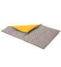 Bacati Grey Dots Yellow Grey Baby Comforter