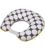 Bacati Grey Dots Yellow Grey Nursing Pillow Cover Only