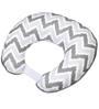 Bacati Grey Zigzag Nursing Pillow