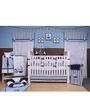Bacati Little Sailor 10 CS Crib Set