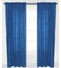 Bacati Navy Pin Dots Curtain Panel Door Set of 2 pcs