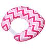 Bacati Pink Zigzag Nursing Pillow