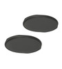 Baker's Secret Steel and Silicon Pizza Pan - Set of 2