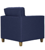 Balene One Seater Sofa in Dark Blue Colour by Madesos