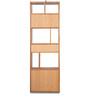 Bamboo Book Shelf in Camel Brown Finish by Godrej Interio