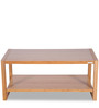 Bamboo Coffee Table in Camel Brown Finish by Godrej Interio