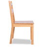 Bamboo Dining Chair in Camel Brown Finish by Godrej Interio