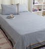 Bana Multicolour Cotton Queen Size Bed sheet - Set of 3
