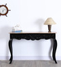 Banon Console Table in Dual Tone Finish by Amberville