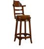 Bar Chair in Brown Colour by Maruti Furniture