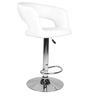 Bar Chair in White Colour by Ventura