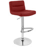 Bar Chair in Red Colour by The Furniture Store