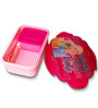 Barbie Medium Lunch Box 600 Ml (BPA Free) by Only Kidz (Set of 2)