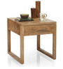 Barcelona Bedside Table in Natural Finish by The ArmChair