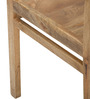 Barcelona Solid Wood Arm Chair in Natural Finish by TheArmchair