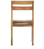 Barcelona Solid Wood Dinning Chair in Natural Finish by TheArmchair