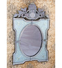 Barker Decorative Mirror in Silver by Amberville