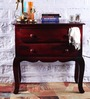 Bissoni Console Table in Passion Mahogany Finish by Amberville