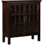 Raliegh Solid Wood Book Case in Provincial Teak Finish by Woodsworth