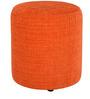 Barrel Round Pouffe in Orange by Siwa Style