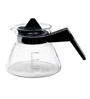 Barworld Borosilicate Glass 600 ML Kettle with Measuring Scale