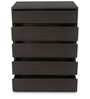 Basic Chest Of Five Drawers in Wenge Colour by HomeTown