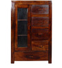 Ontario Solid Wood Cabinet in Provincial Teak Finish by Woodsworth