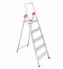 Bathla Aluminium 4 Steps 3.6 FT Ladder with Platform