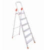 Bathla Aluminium 5 Steps 4.4 FT Ladder with Platform