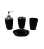 Go Hooked Resin Bathroom Set - Set of 4