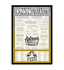 bCreative Paper & Fibre 13 x 1 x 17 Inch Drinking Toasts Cheers Officially Licensed Framed Poster