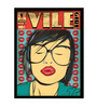 bCreative Paper & Fibre 13 x 1 x 17 Inch Vile Girl Officially Licensed Framed Poster