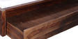Freemont Single Bed with Storage in Provincial Teak Finish by Woodsworth