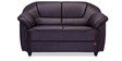 Berry Two Seater Sofa in Coffee Brown Colour by Durian
