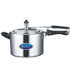 Bestech Aluminium 6.5L Induction Based Pressure Cooker