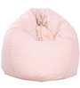 ORGANIC COTTON Bean Bag Cover in Pink Colour by Reme