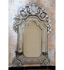 Beaufort Decorative Mirror in Silver by Amberville