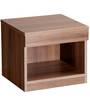 Bed Side Table in Acacia Dark Matt Finish by Debono