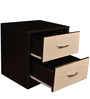 Bed Side Table in Ivory Black Colour by Parin