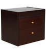 Bedside Table in Brown Colour by Penache Furnishings