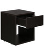 Bedside Table in Wenge Finish by Arancia Mobel